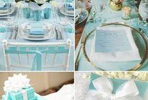 Tiffany's blue   Ślub Tiffany Blue / Więcej wyjątkowych inspiracji znajdziesz na: www.dream-design.pl