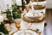christmas table - ideas