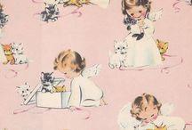 Vintage Materials/Paper Design