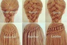 Wear hair