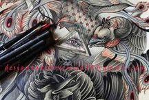 타투도안(Tattoos & Art that I love) / by JK TATTOO