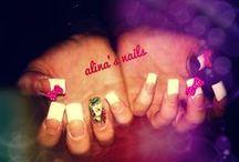 alina's nails / my nails!!...
