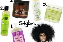 Curly hair products / by keeley dennis