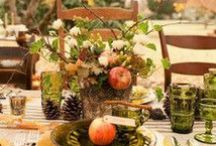 Autumn Wedding ideas / Inspiration and ideas for an autumn themed wedding or party.