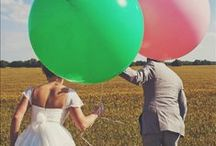 Balloons at Weddings / Giant Balloons are featuring in many weddings today. Find inspirational ideas of how you could incorporate these in to your day
