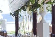 Wedding decor, settings, cakes, flower bouquets, invitations, themes, ideas, diy