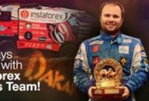 Loprais and InstaForex: traditions, progress, leadership / Ales Loprais is the pilot and the PR manager of a rally crew InstaForex Loprais Team. He also owns an auto parts manufacturing company specializing in world-famous Tatra trucks. Ales was born on January 1980 in Olomouc, the Czech Republic, into a family of the Dakar Rally champions. He was brought up in the atmosphere of endless preparations for rallies. Since early childhood Ales has been involved into car repairing, spending more time in the garage than at home.