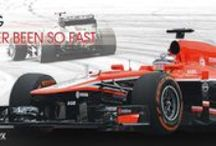 Marussia F1 Team / InstaForex became a partner of the Marussia F1 Team, regular participant of the prestigious and challenging FIA Formula One World Championship.