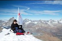 Trading on top with InstaForex / At the end of October 2010, representatives of InstaForex Company Pavel Golubev and Evgeniy Okhrimenko made an uprise to all five peaks of the Breithorn Mountain in Pennine Alps. On top of Western Summit Mountain, at an altitude of 4,165 meters (13,661 ft), the beginning alpinists planted the InstaForex flag.
