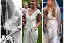 HALFPENNY LONDON REAL BRIDES / Real Halfpenny London brides wearing Lace, silk, satin and all styles of Kate's delicious wedding dresses.