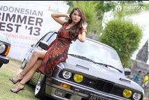 BimmerFest 2013 / From October 13 till 14, a regular festival BimmerFest 2013 took place at the foot of fabulous temple Prambanan located in Central Java, Indonesia. InstaForex is a sponsor of the festival.