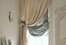 Curtains - drapes - canopies - window treatment - valance
