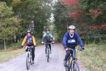 Biking the Trail / A great place to bike!