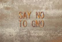 "☮ SAY NO - TO GMO ☮ / GMO is a genetically modified organism whose genetic material has been altered. Over 80% of all GMOs grown worldwide are engineered for herbicide tolerance. As a result, use of toxic herbicides like Roundup has increased 15 times since GMOs were introduced. GMO crops are also responsible for the emergence of ""super weeds"" and ""super bugs:' GMOs therefore pose a serious threat to farmer sovereignty and to the national food security wherever they are grown. And that's to say the least..."