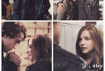 if i stay / The movie, the music, the cast, interviews, movie clips, movie stills, tv spots. And Jamie Blackley. *thud*