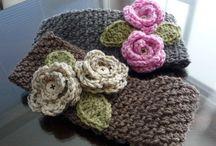 Crocheted Headband/Headwrap/Earwarmer