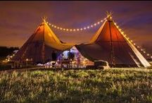 Tipis by Night