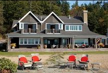 Houses of Camano Island, Whidbey Island and the Skagit Valley / Houses located on Camano Island, Whidbey Island and the Skagit Valley designed by Designs Northwest Architects.