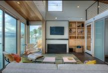 Fireplaces / Fireplaces featured in homes designed by Designs Northwest Architects