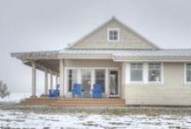 Ten Broeck Farm / Contemporary Farmhouse designed by Designs Northwest Architects.