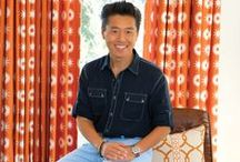 Vern Yip Fabric and Trim Collection from Trend and Fabricut fabrics / How exciting?!?!  HGTV designer Vern Yip's fabric collection is now here!  Over 150 exciting fabric and trims in colors that are all available by the yard.