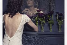BACKLESS WEDDING DRESSES BY HALFPENNY LONDON / Beautiful backless wedding gowns designed by Kate Halfpenny, Halfpenny London