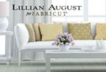 Lillian August fabric collection / Dramatic colors and rich, earth tones embody more than 100 smart, uptown upholstery, bedding, drapery and multipurpose fabrics. Drawing on 25 years of unparalleled success in textiles, Lillian August fabrics showcase a legacy of quality design, seamlessly moving from traditional patterns to contemporary scales and textures.