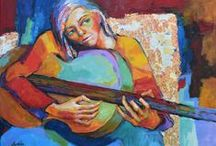 Jyotika Shroff - Acrylic Painting / Acrylic Painting on Canvas