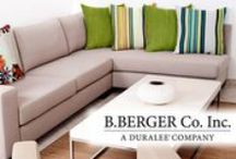 B. Berger fabric collection / Bold and fresh, B. Berger delivers 8 well-priced collections chock full of upholstery, multipurpose and drapery fabrics bathed in happy patterns.