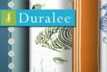 Duralee Oceanview Fabric Collection / Thirty-nine patterns offer loads of opportunities to toss bright pillow and cushions throughout your home. Built for daily wear and tear, the Duraguard finish on the Oceanview Fabrics open the doors to upbeat, cheerful design in your busiest social spaces.