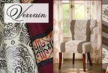 Vervain Decor Fabric / The ingenuity of today's interior design is often born of travel. European- and Asian-influenced colors and patterns can be found throughout Vervain's rich and energetic fabric collections by Barry Dixon and Charles Faudree.