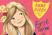 Books: Children's School Series / Fictional series based on children's boarding schools and school adventures.