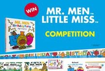 Mr Men Birthday Party / Why not create a Mr Men and Little Miss themed birthday party.