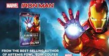 Marvel Iron Man / Iron Man books, competitions and quote images.