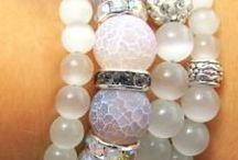 11. White beads