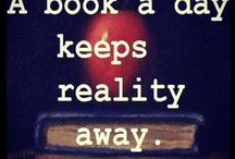 ♡Books / My favourite thing to do, read a book and become one with it..