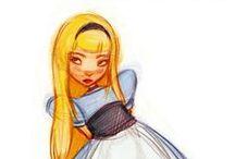 Illustrations: Alice in Wonderland