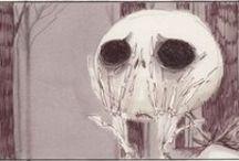 Illustrations: Tim Burton's Nightmares