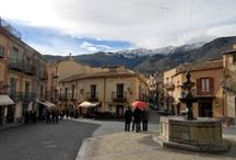 "Lovely Sicilian villages / The Madonie area is full of small villages and towns where time seems to have stopped. The locals keep lively their traditions, their ""no stress"" way of life and their warm hospitality."