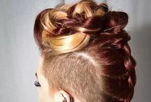 Hair#Long&Braids&Updo's / Long hair inspiration, color, braids, buns, updo's, brides and partyhair.