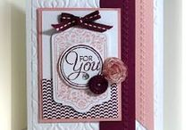 chalk talk / cards made using stampin up chalk talk stamp set