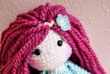 muñecas-dolls / amigurumis