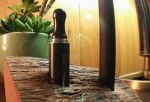 E-cig Vape Stands / Designer e-cig vape stands with rustic modern look with hint of color. Wood stands or holders for mods, vapes, e-cigs and e-liquid. Mod stands, vape holders, e-cig docks and e-liquid holders unique and handcrafted to the highest standard.