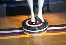 Rotating mannequins / Rotary displays for mannequins