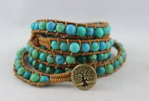 HelenandBetty Wrap Braceles / Leather beaded wrap bracelets; Unique designs; Great gifts; Beaded bracelets; Fashion jewelry; Fashion accessories; Handmade; Custom made;Gifts for women;jewelry; Bridal;Wedding;yoga