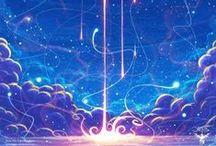 VFX: Magic / Other-worldly elements. So pretty!