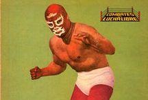 Lucha libre / La lucha libre fait partie intégrante de la culture populaire mexicaine. Les luchadores portent des masques et comptent des stars parmis lesquels Blue Demon, Santo, El Halcon, El Marques et Anibal.