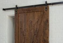 Great looking Barn Doors / Barn doors that we have installed and some that inspire us