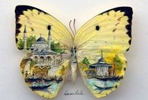 Butterflies / Butterflies in the art