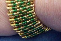 safety pin bracelet / s / by roshan zamir